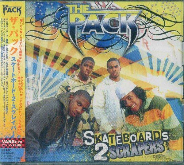 甲上唱片  The Pack ~ Skateboards 2 Scrapers ~ 日盤