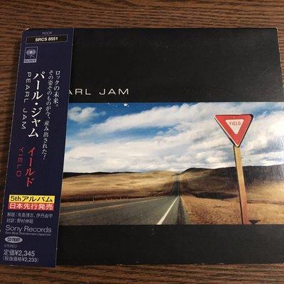 [老搖滾典藏] Pearl Jam-Yield 日版專輯