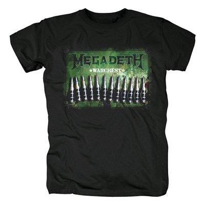 Megadeth麥格戴斯美國Thrash Metal速度金屬重金屬punk紀念t恤