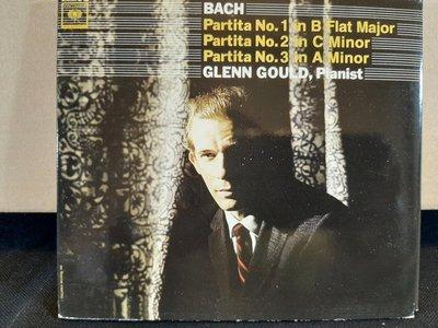 Gould,Bach-Partita No.1 - 6,顧爾德演繹巴哈組曲1 - 6 號,共2張專輯,2片CD,不分售,如新。