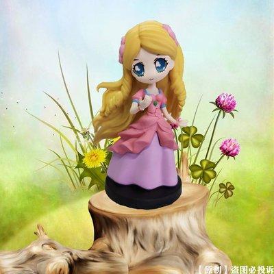 手辦葉羅麗盲盒手辦迷你公主精靈夢女孩可愛玩具娃娃魔法仙子卡片整盒