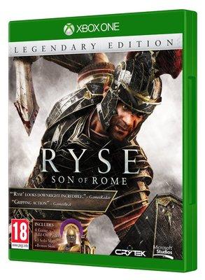 全新未拆 XBOX ONE 羅馬之子 傳奇版 年度完整版-中英文版-RYSE Legendary