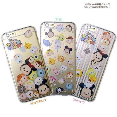 尼德斯Nydus~* 日本正版 迪士尼 TSUM Q版 米妮 米奇 黛西 透明款 手機殼 4.7吋 iPhone 6