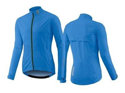 全新 新款 捷安特 GIANT PROSHIELD 透氣輕量高級防水外套/高級防水雨衣 可收車衣口袋 可應付大雨 藍色