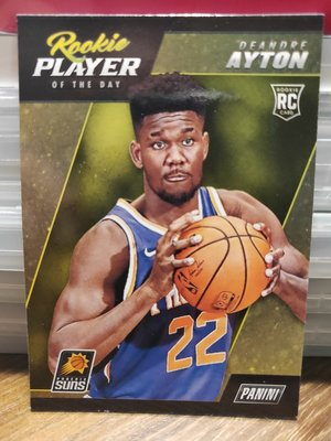 (記得小舖)NBA 鳳凰城太陽 Deandre Ayton Panini 普卡 1張 台灣現貨