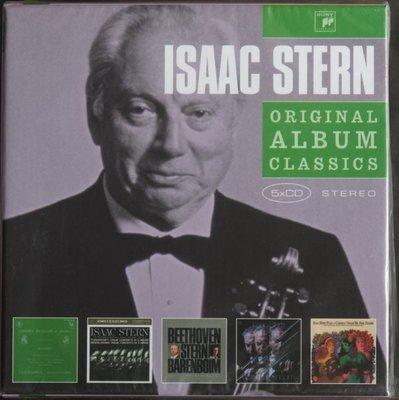 史坦 / 嚴選名盤套裝 (5CD)全新歐洲空運進口Isaac Stern / Original Album Classi