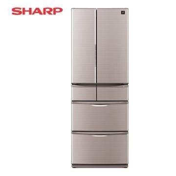 詢價優惠~SHARP 夏普 SJ-XF47BT 金色 465L  變頻六門對開冰箱  日本原裝