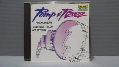 古典POMP & PIZAZZ小埃里希·孔澤爾 和辛辛那提1987 CD日本制 保證讀取 有現貨 多提問