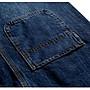 XL-8XL喬羽中大碼彈性修身顯瘦中大尺碼牛仔吊帶褲背帶褲~KB080902