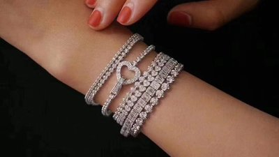 天然鑽石手鍊 Natural diamond bracelet