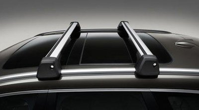 Volvo 富豪 原廠 選配 純正 部品 XC60 2018+ 鋁合金 車頂架 橫桿 行李架 旅行風