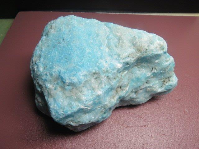 【競標網】天然罕見漂亮非洲矽藍寶石原礦2420公克(K5)(天天超低價起標、價高得標、限量一件、標到賺到)