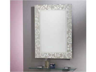 華冠牌 HM-046 康乃馨鏡 浴鏡、化妝鏡 浴室衛浴鏡子 明鏡 除霧鏡 鏡子