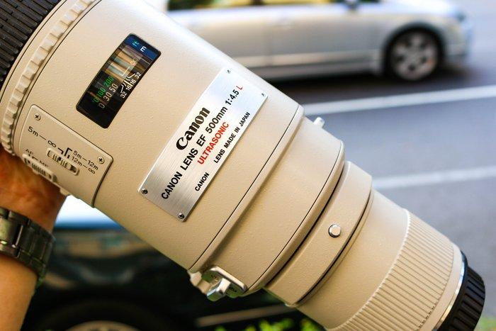 【高雄青蘋果3C】CANON EF 500MM F4.5 L UL鏡 日本製 二手鏡頭 #43381