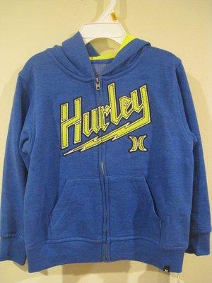 Hurley 男童外套 尺寸 5歲