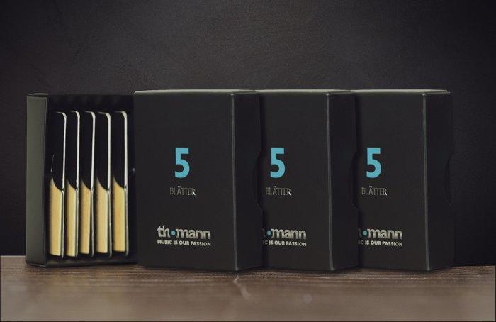 §唐川音樂§ 【德國 Thomann Alto Sax reeds  耐用高品質的手挑片】中音薩克斯風竹片 5片裝