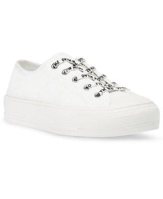 Steve Madden Vex Ribbed Knit Cap-Toe Sneakers 4/4止