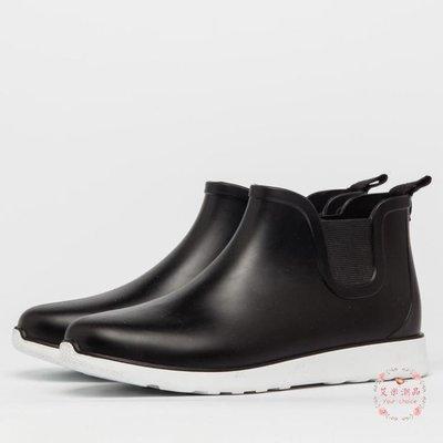 雨鞋 洗車雨靴水靴短筒套鞋防滑膠鞋防水鞋成人男