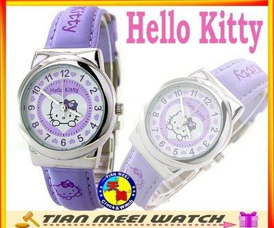 【全新原廠公司貨】【天美鐘錶店家直營】【下殺↘超低價有保固】日本Hello Kitty錶-HK803L 紫