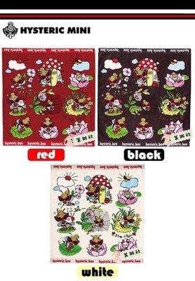 【HYSTERIC】Sweety Buzz毛巾:白色1,紅色4,黑色4 ($60)