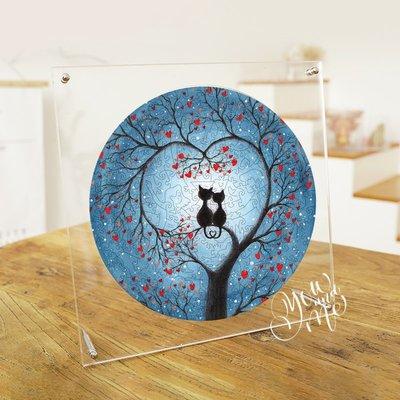 新風小鋪-情人節拼圖puzzle木質不規則高難度抖音情侶親子團建益智玩具禮物