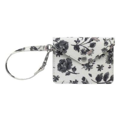 英國代購 現貨 Cath Kidston Envelope Coin Purse Pressed Flowers Ditsy 黑白碎花 信封形卡片零錢包 銀包