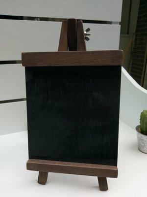 zakka糖果臘腸鄉村雜貨坊    雜貨類..桌上型小黑板.告示架.畫架黑板(展示架指示牌告示牌道具婚禮婚紗禮金桌佈景)