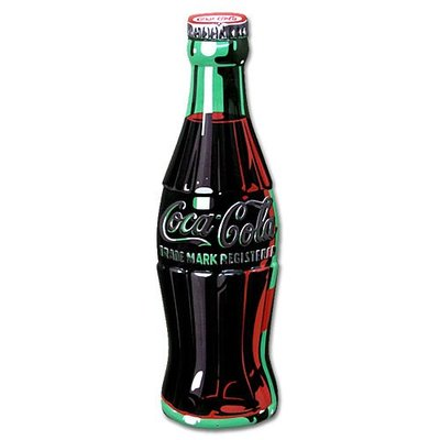 (I LOVE樂多)進口立體Coca Cola可口可樂鋁製看板壁飾 打造居家車庫酒吧店家裝飾情境自己來