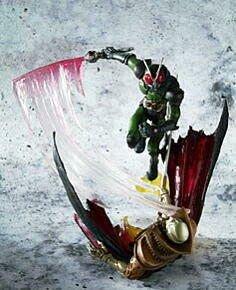 BANDAI盒玩 S.I.C.假面騎士-SIC匠魂8代~Vol.8 單賣: 假面騎士RX 綠色款
