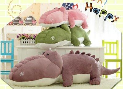 ☆汪汪鼠☆【80公分】胖鱷魚抱枕 Q版巨鱷 男朋友娃娃 睡覺玩偶 絨毛娃娃 聖誕節交換禮物