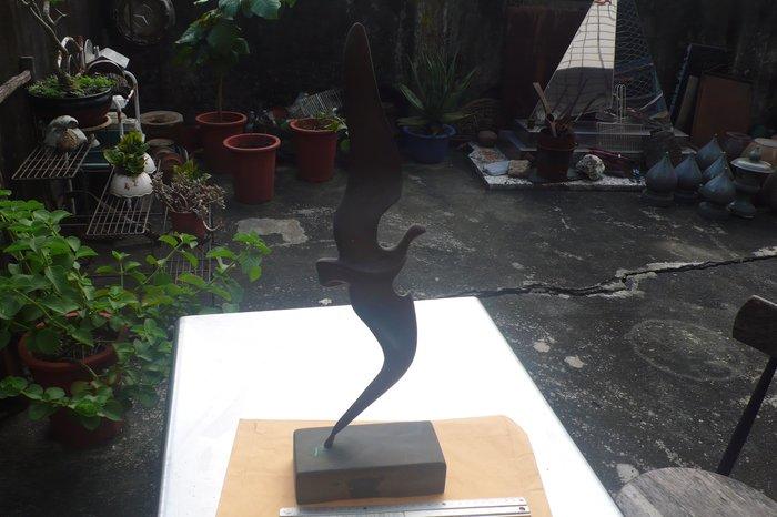紫色小館89------藝術銅雕
