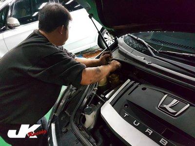 JK Racing 精品 LUXGEN 7 SUV.MPV U7 M7 前上拉桿 引擎室拉桿