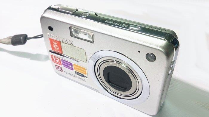 ☆手機寶藏點☆ Pentax Optio A36 數位相機 銀  零件機 故障 報帳繳回 貨到付款 咖138