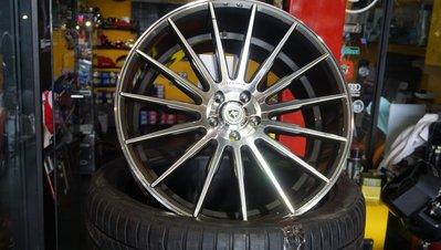 PORSCHE MACAN 21吋前後配. 德國artFrom Wheel, 大凹設計 TUV鋁圈, BENZ CLS可