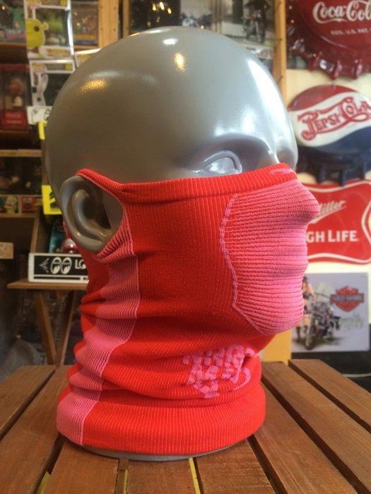 (I LOVE樂多)Naroo Mask桃紅長版X5騎行運動 面罩 單車 哈雷 越野 滑胎 偉士 VESPA Cafe
