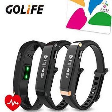 GOLiFE Care-X HR 智慧悠遊心率手環 黑 / 金黑色