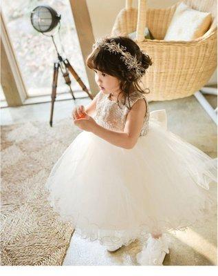 ☆°╮VS流行館╭°☆版型超美超精緻(小編自留款)重點在背後愛心蕾絲◎女童氣質優雅公主洋裝小禮服500元(120公分)