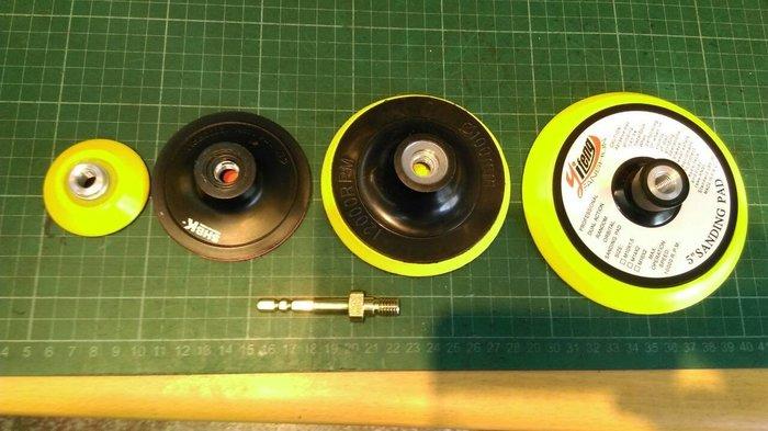 尚溢五金-讓電鑽進化衝擊式起子機進化(專利多功能轉接桿S6.8)+(魔鬼氈式)2吋與3吋與4吋與5吋魔鬼氈式磨盤-共4種