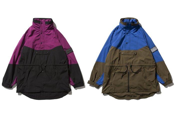 { POISON } DeMarcoLab SKI PULLOVER JKT 現代機能運動元素 復古滑雪衣樣式重裝外套