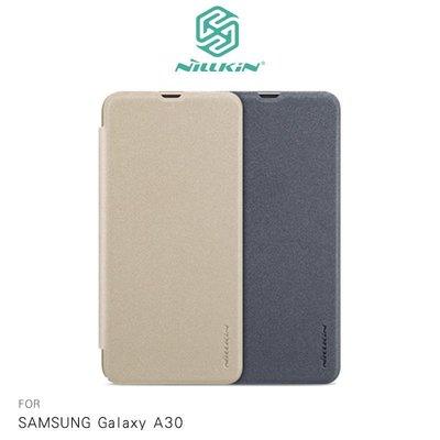 【愛瘋潮】NILLKIN SAMSUNG Galaxy A30 星韵皮套 掀蓋 硬殼 手機殼 保護殼