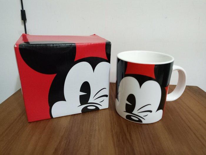 天使熊雜貨小舖~日本帶回迪士尼米奇馬克杯 陶瓷杯    全新現貨
