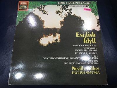 開心唱片 (ENGLISH IDYLL / ) 二手 黑膠唱片 DD404