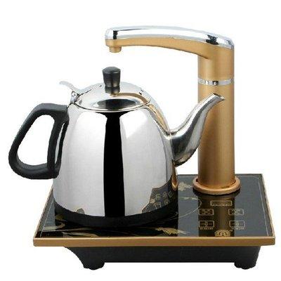 5Cgo【茗道】含稅會員有優惠 19786837621 控溫自動上水壺不鏽鋼電熱水壺燒水壺泡茶壺 1.2L  220V