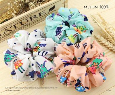 【MELON 100%】正韓 · 兔兔派對 可愛童話變裝小兔髮束 H0258