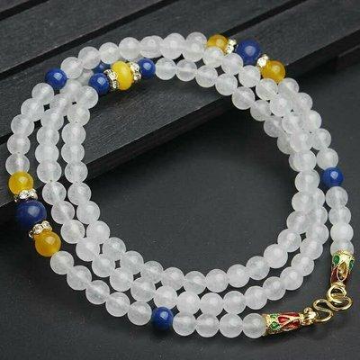 「還願佛牌」泰國 佛牌鏈 串珠款 項鍊 單掛 經典 佛牌鏈子 白玉 黃玉 綠松石