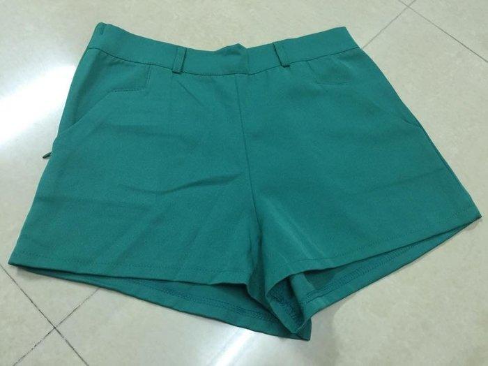 ☀APPLE SHOP☀ 草綠色 雪紡短褲