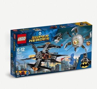 (預購)LEGO DC Superheroes 76111 Batman: Brother Eye Takedown set