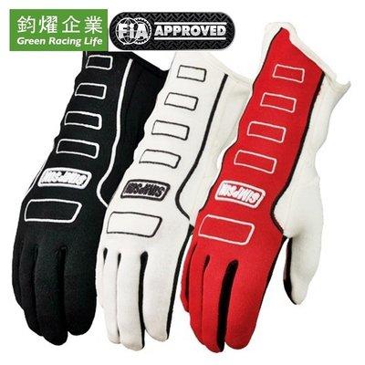 Simpson 賽車FIA Approved專業部品  Competitor Gloves 賽車手套 [FIA認證]