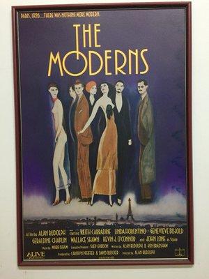 The Moderns (輝煌時代)美版原版海報_二手含框