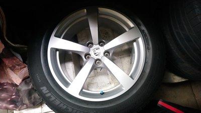 保時捷 porsche macan 18吋 原廠鋁圈 含米其林235/60/18 米其林255/55/18落地輪胎